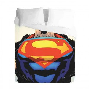 Comic Superman Duvet Cover Set