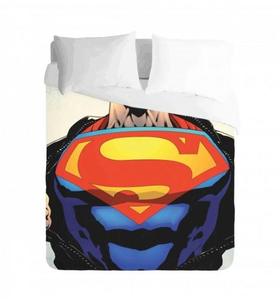 Comic Superman Duvet Cover Set