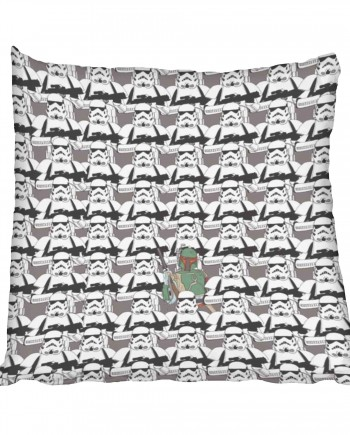 Star Wars Stormtrooper Boba Fett Scatter Cushion