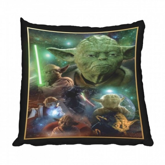 Star Wars Yoda Scatter Cushion