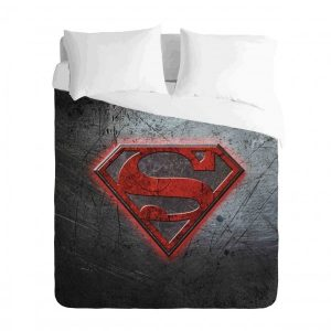Superman Logo Duvet Cover Set