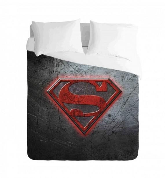 Superman Logo Duvet Cover Set