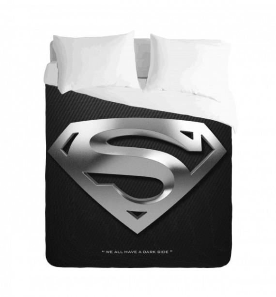 Superman Silver Logo Duvet Cover Set