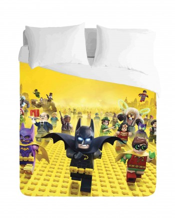 Lego Batman movie Duvet