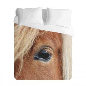 Horse Eye Duvet Cover Set