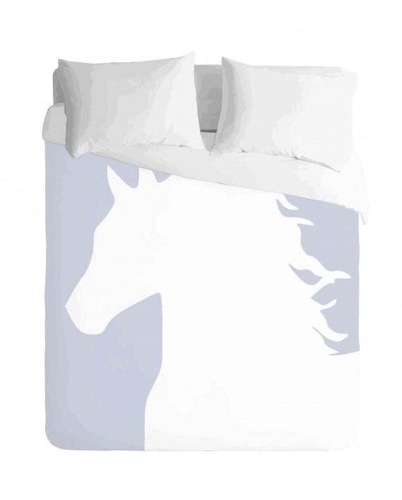 Horse Profile Duvet Cover Set