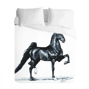 Proud Saddlebred Horse Duvet