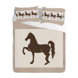 Saddlebred Horse Duvet Cover Set