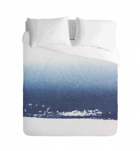 Ombre Blue watercolour Duvet