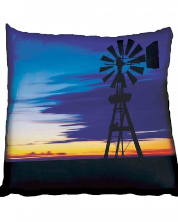 Windmill and Sunset Scatter