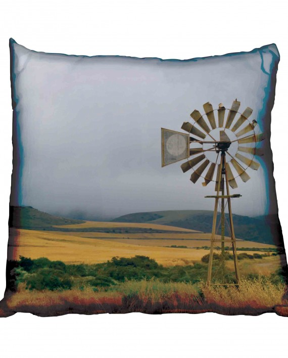 Windmill and Rolling Hills Scatter