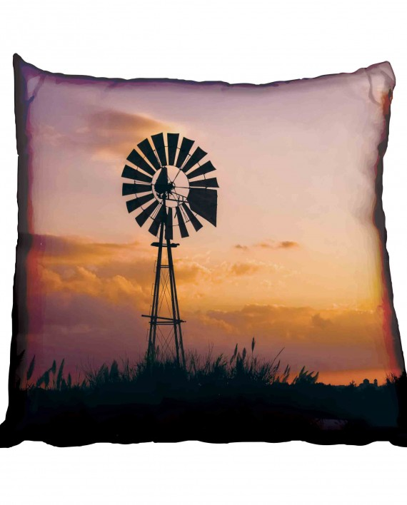 Windmill in the African Veld Scatter