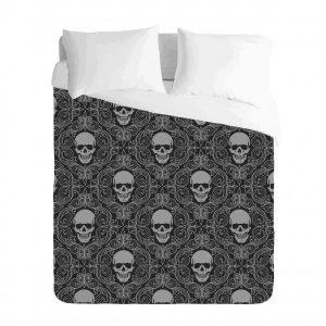 Sugar Skull Duvet Cover Set