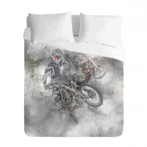 Motocross Dirt bike Duvet