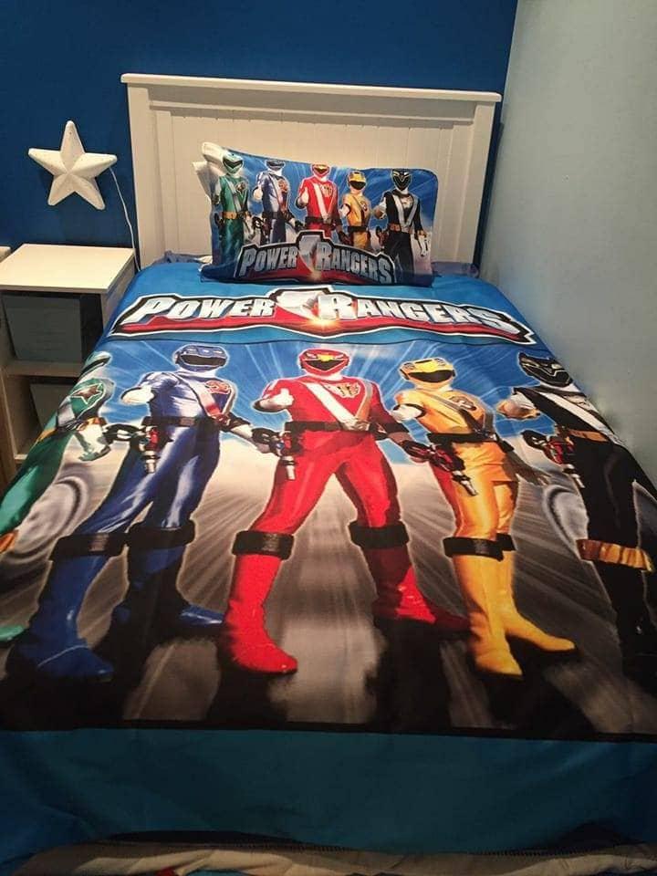 Power Rangers Duvet Cover Set | Imaginate Decor